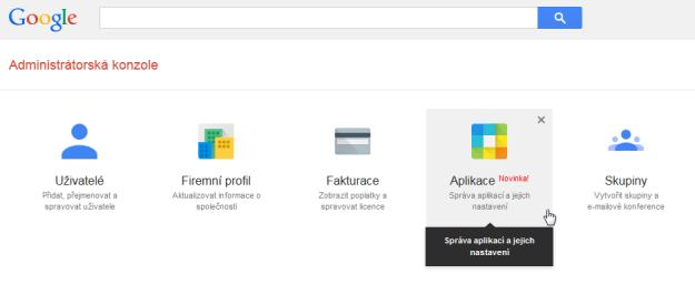 Google Apps Aplikace